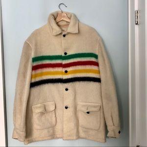 HOST PICK** UNISEX '50's Hudson's Bay Blanket Coat